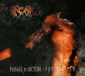 ROTTING CHRIST (Gr) - 'Passage To Arcturo + Non Serviam' 2-CD
