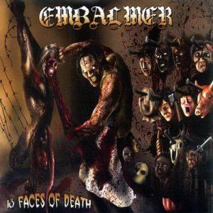 EMBALMER (USA) – '13 Faces of Death' CD