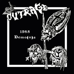OUTRAGE (Ger) – '1985 Demo(n)s' CD