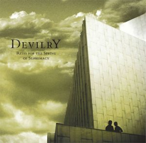 DEVILRY (Fin) - 'Rites For The Spring of Supremacy' LP Gatefold