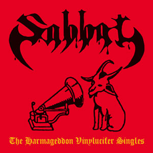 SABBAT (Jap) – 'The Harmageddon Vinylucifer Singles' CD