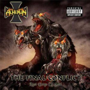 ACHERON (USA) – 'The Final Conflict' CD-A5