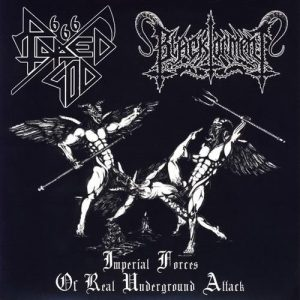 RAPED GOD 666 / BLACK TORMENT (Mex) – split MCD