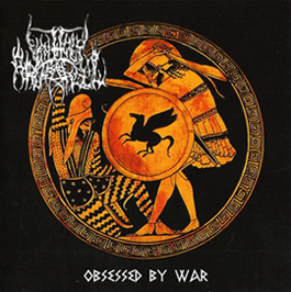 UNHOLY ARCHANGEL (Gr) – 'Obsessed by War' CD - 7'packaging with poster