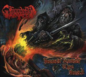 HOODED MENACE (Fin) – 'Never Cross The Dead' CD Slipcase