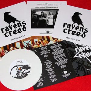 """RAVENS CREED (UK) – 'Nestless & Wild' 7""""EP"""
