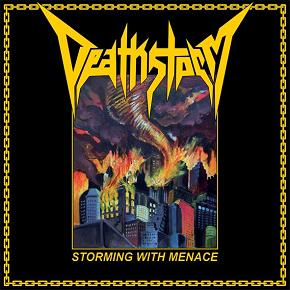 DEATHSTORM (Aus) – 'Storming With Menace' MLP (Yellow vinyl)