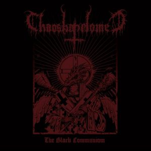 "CHAOSBAPHOMET (Gr) – 'The Black Communion' 7""EP Gatefold"