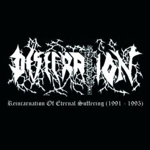 DESECRATION (It) – 'Reincarnation Of Eternal Suffering (1991-1995)' CD