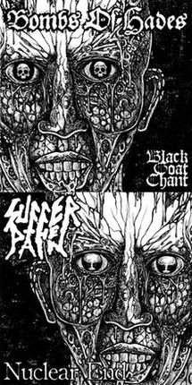 "BOMBS OF HADES / SUFFER THE PAIN (Swe) – split 7""EP"