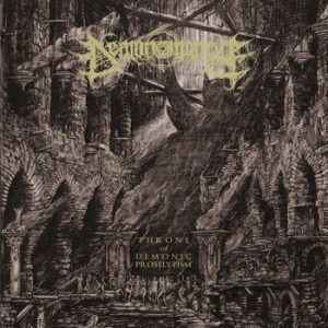 DEMONOMANCY (It) – 'Throne of Demonic Proselytism' LP Gatefold