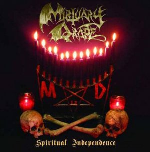MORTUARY DRAPE (Ita) – 'Spiritual Independence' CD Digipack