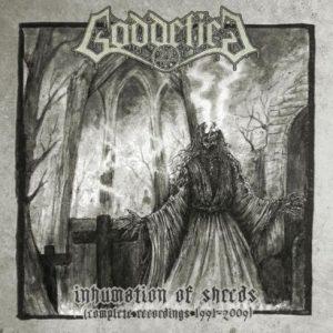 GODDEFIED (Swe) - Inhumation of Shreds (Complete Recordings 1991-2009) D-LP Gatefold