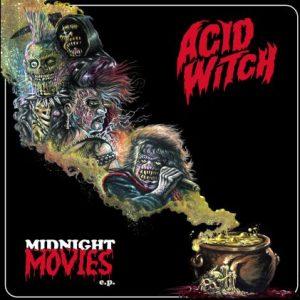 ACID WITCH (USA) – 'Midnight Movies' MCD Digipack