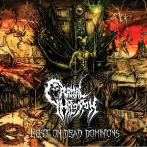 CRANIAL IMPLOSION (Chi) - Lost on Dead Dominions CD