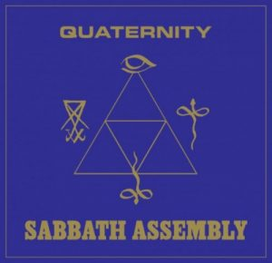 SABBATH ASSEMBLY (USA) – 'Quaternity' CD Digisleeve