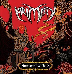 PRIMITIV (Ind) – 'Immortal and Vile' CD