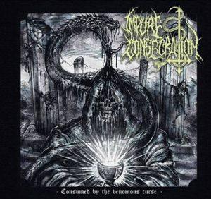 IMPURE CONSECRATION (USA) – 'Consumed By The Venomous Curse' MCD