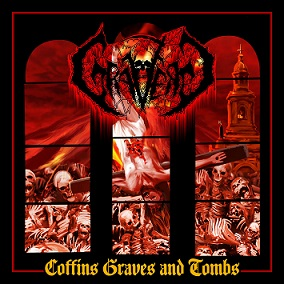 GRAVERED (Chi) – 'Coffins Graves and Tombs' MCD