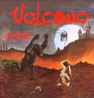 VULCANO (Bra) – 'Live! + bonus' CD