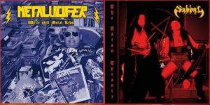 "SABBAT / METALUCIFER (Jap) – split 7""EP"