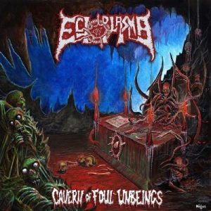 ECTOPLASMA (Gr) – 'Cavern of Foul Unbeings' CD