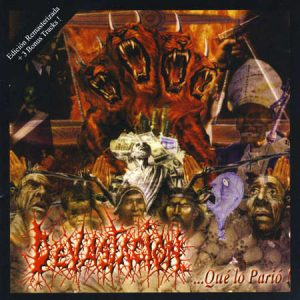 DEVASTACION (Arg) – '...Que Lo Pario' CD