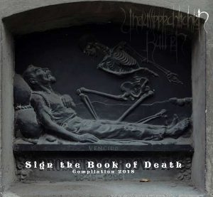 UNAUSSPRECHLICHEN KULTEN (Chi) – 'Sign the Book of Death' CD Digisleeve