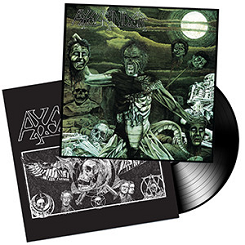 AXEGRINDER (UK) – 'Rise Of The Serpent Men' LP Gatefold