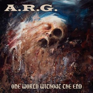 A.R.G. (Fin) – 'One World Without End' LP (Blue vinyl)
