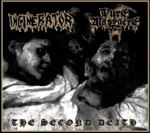 INCINERATOR / PURE MASSACRE (Pol/Arg) – split CD Digipack