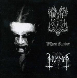HORNA / MUSTA SURMA (Fin) – split CD