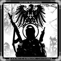 SATANIC WARMASTER (Fin) – 'Black Metal Kommando / Gas Chamber' CD