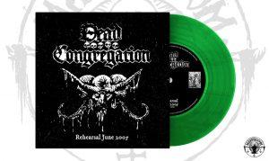 DEAD CONGREGATION – 'Rehearsal 2005' 7''EP