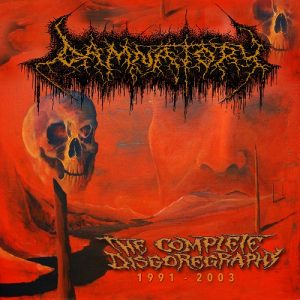 DAMNATORY (Swi) – 'The Complete Disgoregraphy 1991-2003' CD
