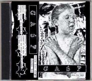 GASP (USA) – 'Sore For Days' CD