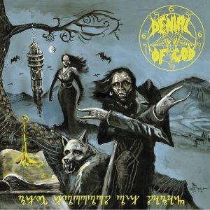 """DENIAL OF GOD (Dk) – 'The Horrors Of Satan' CD in 7"""" gatefold sleeve"""