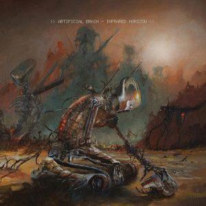 ARTIFICIAL BRAIN (USA) – 'Infrared Horizon' CD Digipack