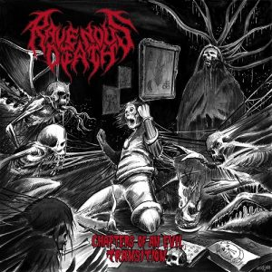 RAVENOUS DEATH (Mex) – 'Chapters of an Evil Transition' CD