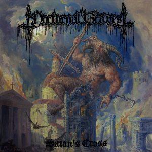 NOCTURNAL GRAVES (Aus) - 'Satan's Cross + bonus' CD Digipack