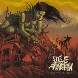 VILE APPARITION (Aus) – 'Depravity Ordained' CD