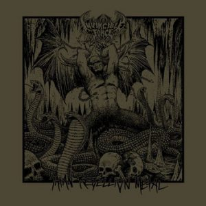 INVINCIBLE FORCE (Chi) – Satan Rebellion Metal CD