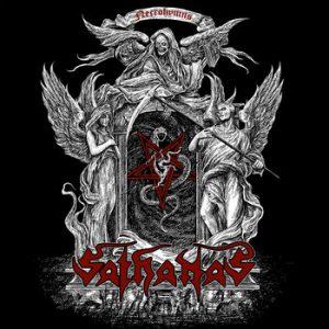 SATHANAS (USA) – 'Necrohymns' CD Digipack