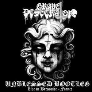 GRAVE DESECRATOR (Bra) – 'Unblessed Bootleg Live in Bressuire – France' CD