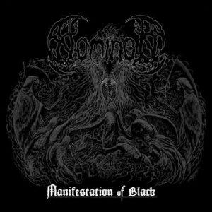 """NOMINON (Swe) – 'Manifestation Of Black' 7""""EP"""