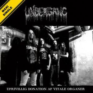 UNDERGANG (Dk) – 'Ufrivilling Donation Af Vitale Organer' MCD