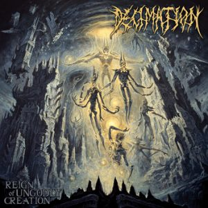 DECIMATION (Tur) – 'Reign of Ungodly Creation' CD