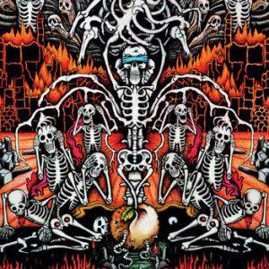"CADAVERIC INCUBATOR / AXESLAUGHTER (Fin) - Split 7""EP"