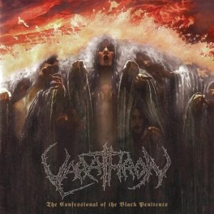 VARATHRON – 'The Confessional of the Black Penitents' CD Ecopack