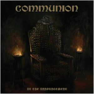 COMMUNION (Chi) – 'At The Announcement' CD